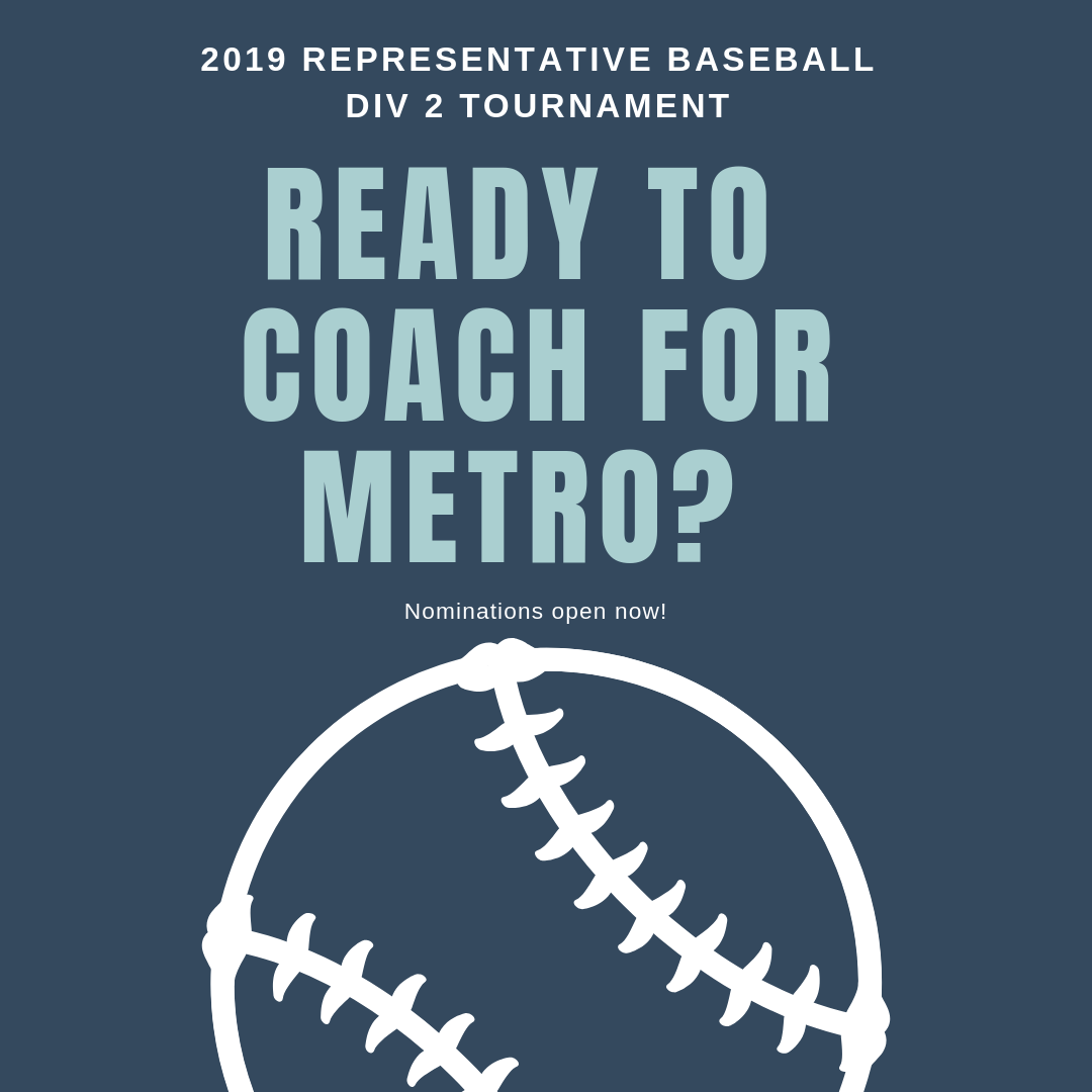 Ready to coach for metro?Div2